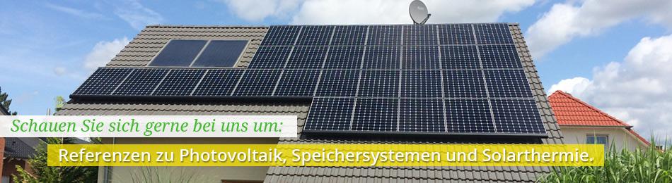 Unsere Referenzen von Solaranlagen im Raum Köln und Erftstadt.