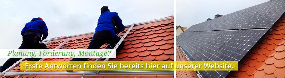 Solaranlagen-Beratung: Gute Beratung wird bei uns groß geschrieben.