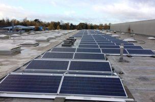 PV Anlage SunPower SolarEnergieNetzwerk